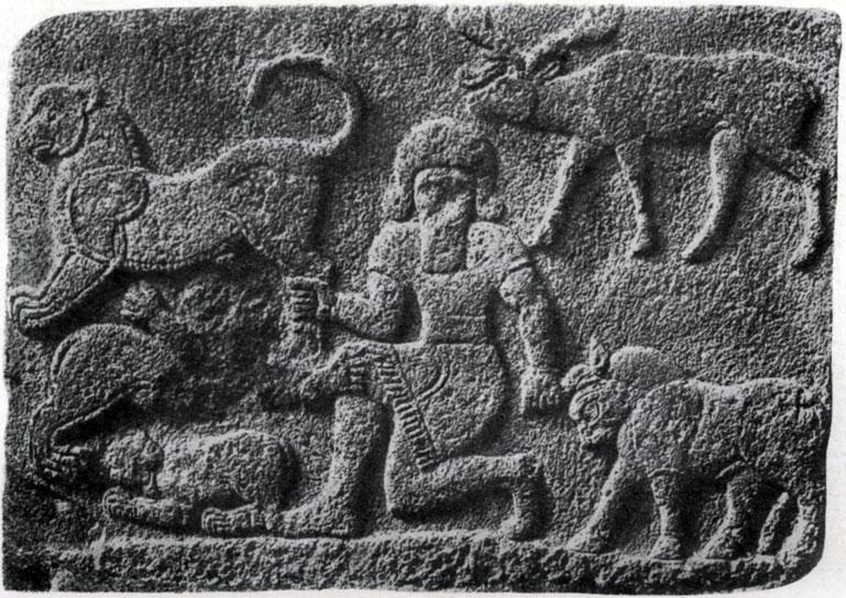 27 6. Хеттский рельеф из Секче-Гезу Около 7 в. до н. э.