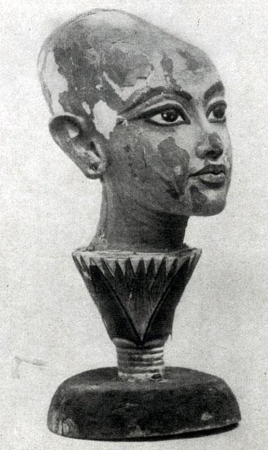 88 6. Голова Тутанхамона. 14 в. до н. э.