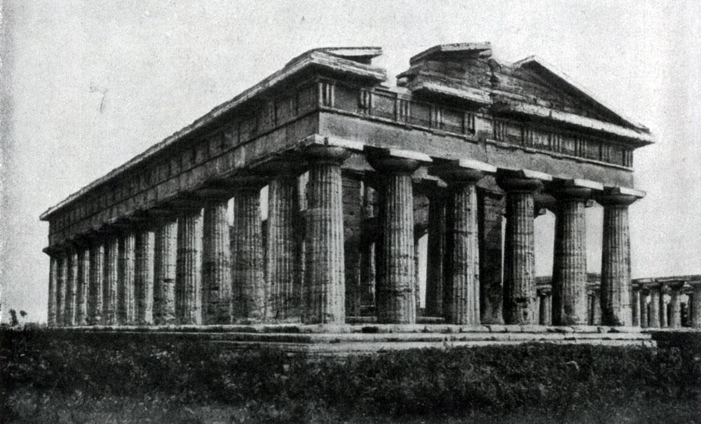 128. Храм Посейдона в Пестуме (южная Италия). Вторая четверть 5 в. до н. э.
