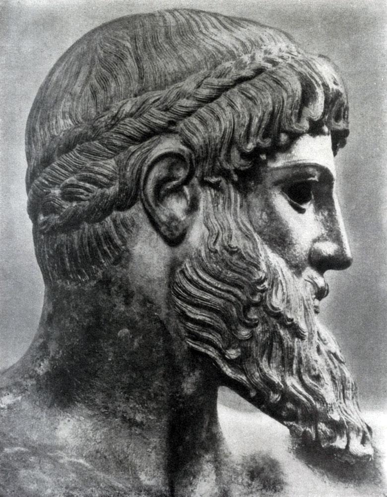 141. Зевс Громовержец. Голова. См. илл. 139.