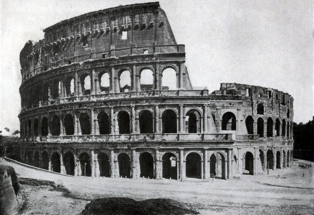 Искусство Римской империи в н э Всеобщая история  Колизей амфитеатр Флавиев в Риме 75 82 гг н