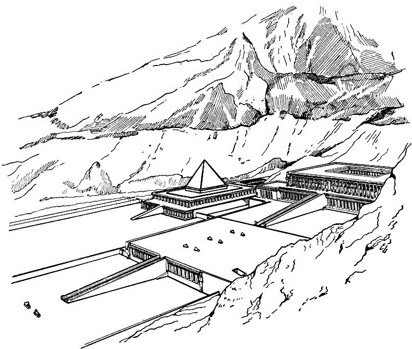 Храм царицы Хатшепсут в