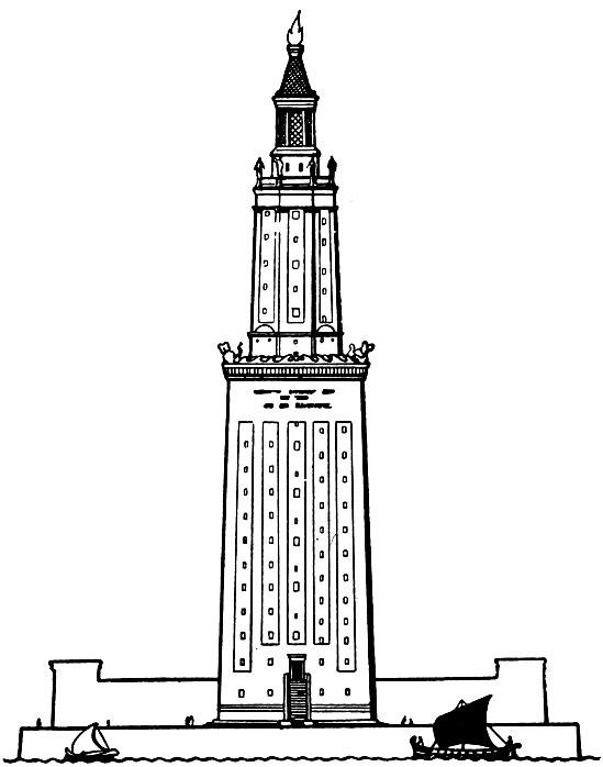 Фаросский маяк.Реконструкция.
