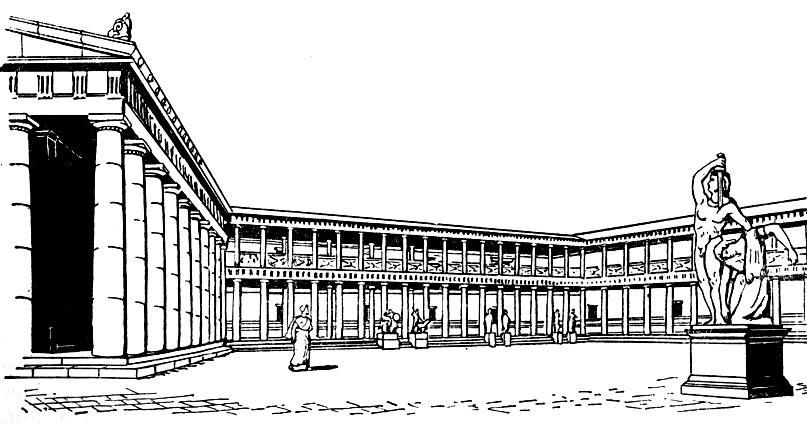 Святилище Афины в Пергаме.