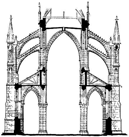 Собор Нотр-Дам в Реймсе. 1210