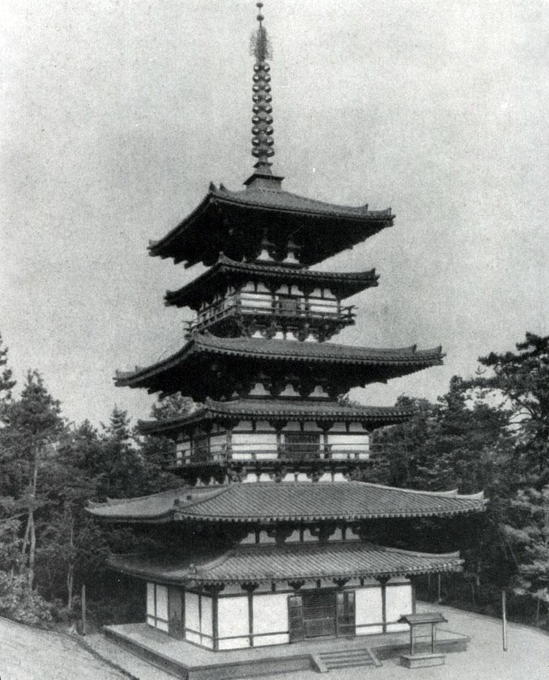 304 восточная пагода якусидзи в нара 7