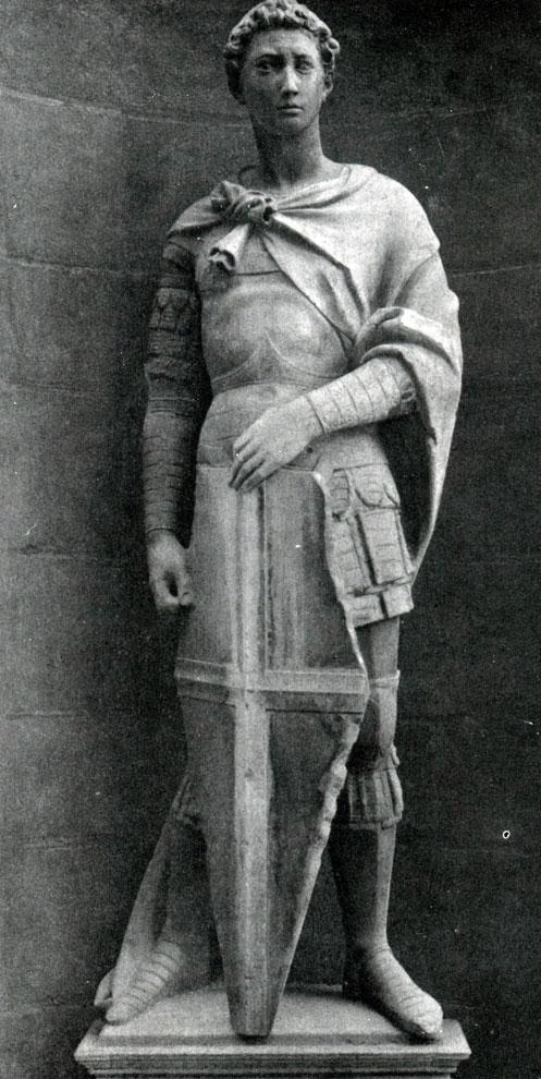 Статуя святого георгия работа данателло