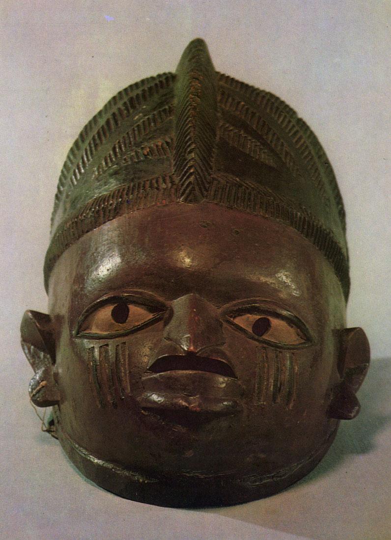 деревянная маска из африки значение