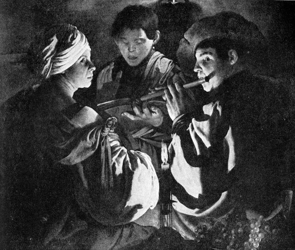 Хендрик Тербрюгген. Концерт. Ок. 1628-1629 гг. Ледбери, собрание Батхерст.