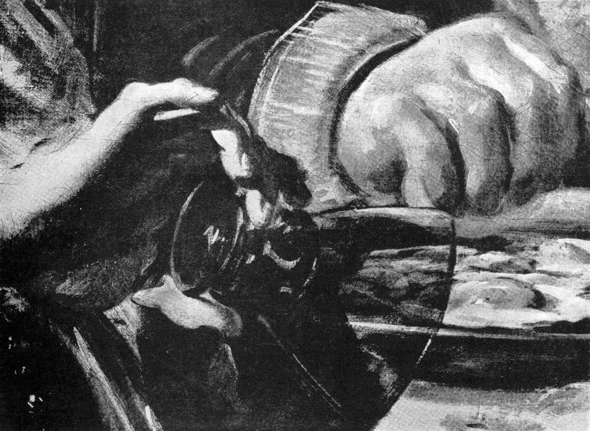 Франс Хальс. Групповой портрет офицеров стрелковой роты св. Георгия. Фрагмент.