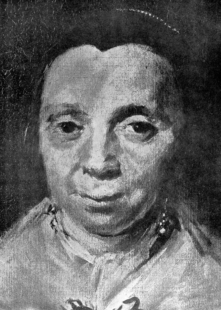 Франс Хальс. Групповой портрет регентш приюта для престарелых. Фрагмент.
