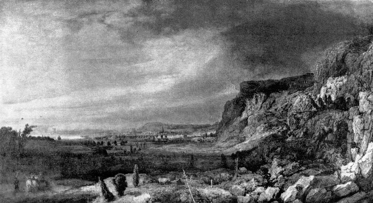 Геркулес Сегерс. Горный пейзаж. После 1630 г. Флоренция, Уффици.