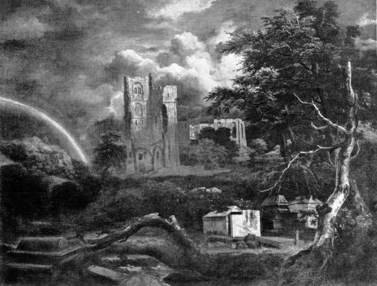 Якоб ван Рейсдаль. Еврейское кладбище. Между 1660 и 1670 гг. Детройт, Институт изящных искусств.