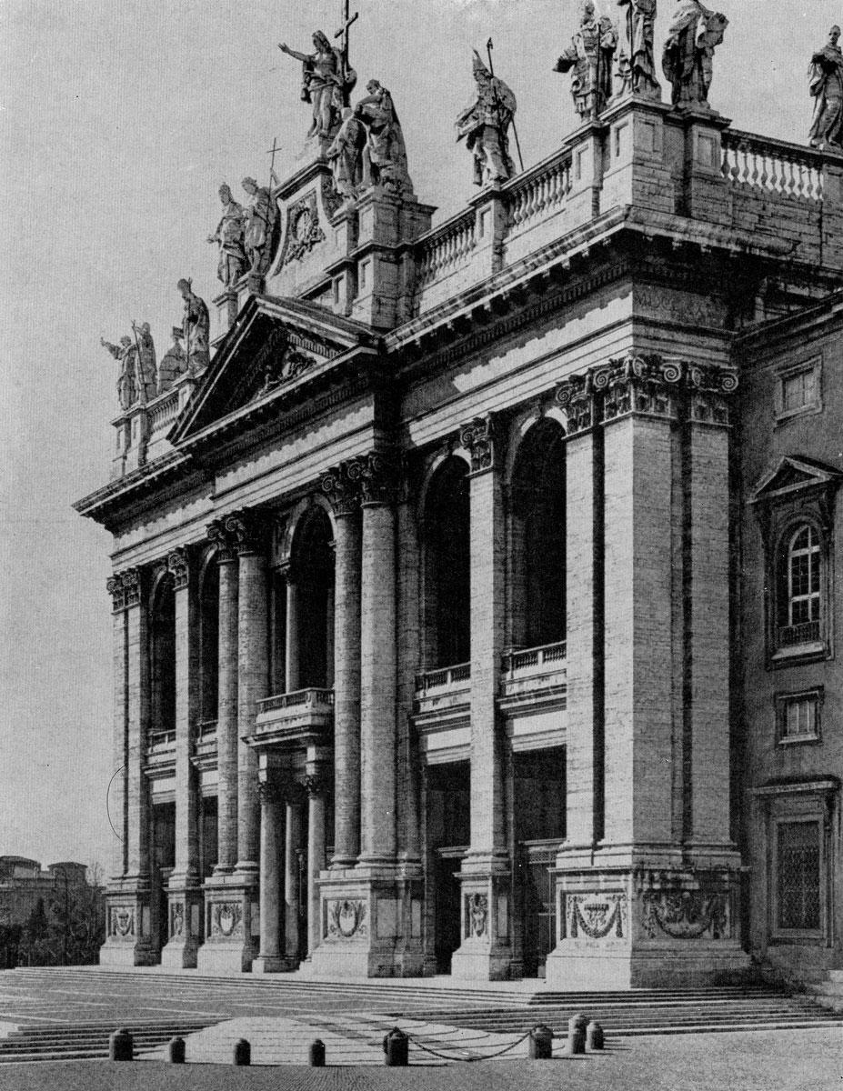 Алессандро Галилеи. Фасад церкви Сан Джованни ин Латерано в Риме. 1733-1736 гг.