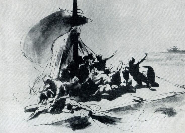 Теодор жерико плот медузы 1818—1819 гг