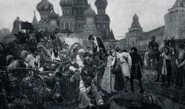 В и суриков утро стрелецкой казни 1881