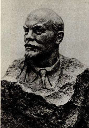 24. Е. Вучетич. В. И. Ленин. 1958