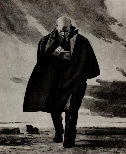 25. Г. Геловани. В. И. Ленин. 1961