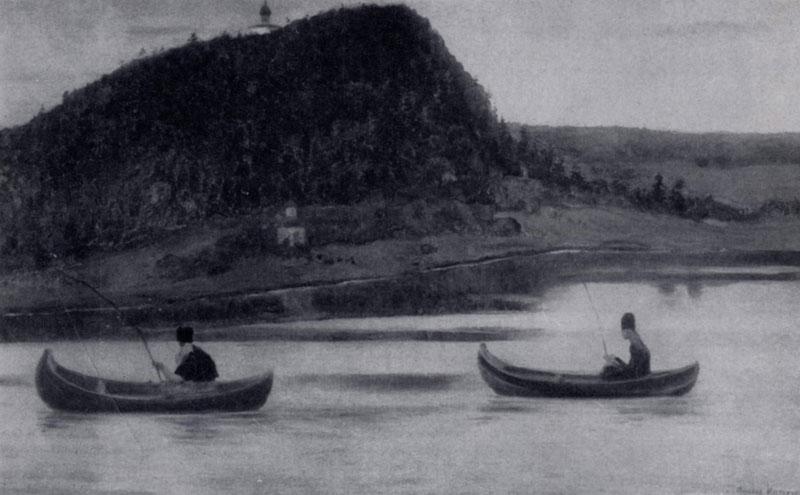 М. В. Нестеров. Молчание. 1903 г. Москва, Третьяковская галлерея