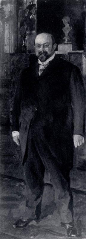В. А. Серов. Портрет М. А. Морозова. 1902 г. Москва, Третьяковская галлерея