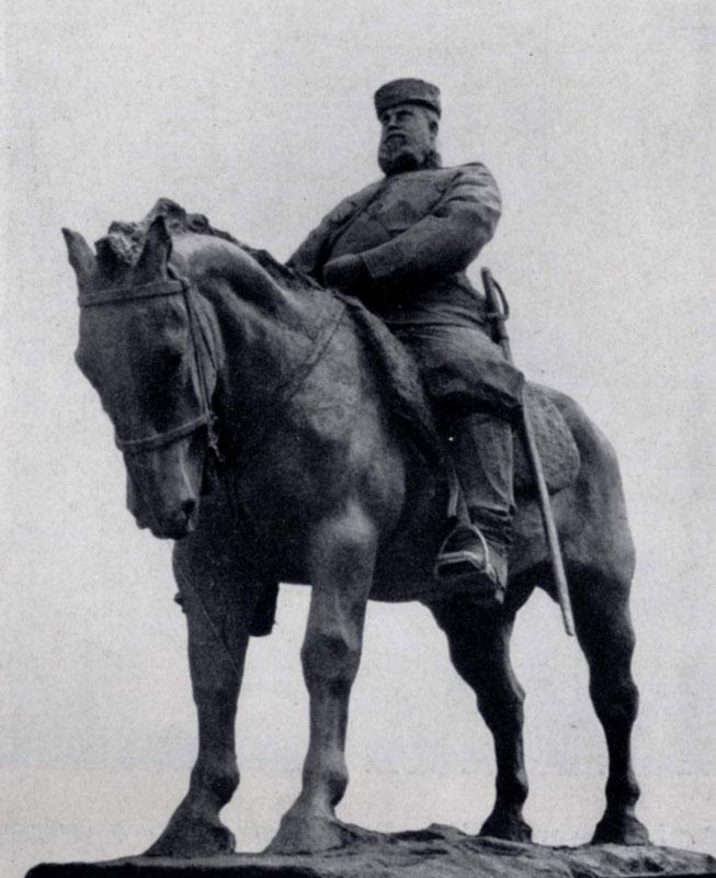 П. П. Трубецкой. Памятник Александру III. Бронза. 1909 г. Ленинград, Русский музей