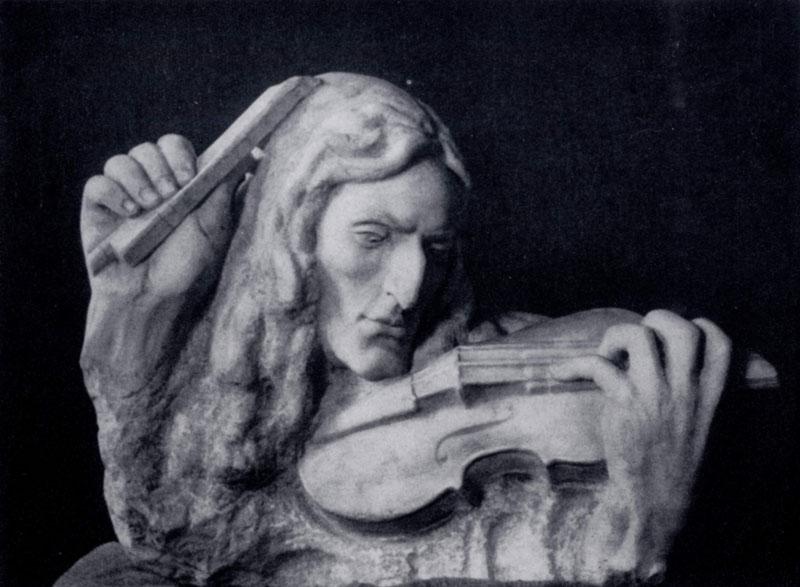 С. Т. Коненков. Паганини. Мрамор. 1908 г