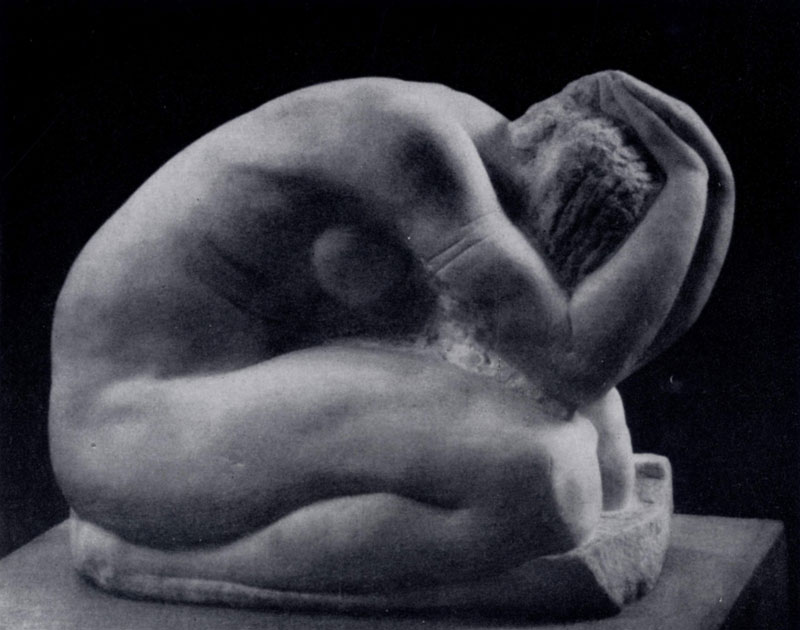 С. Т. Коненков. Коленопреклоненная. Мрамор. 1907 г. Москва, Третьяковская галлерея