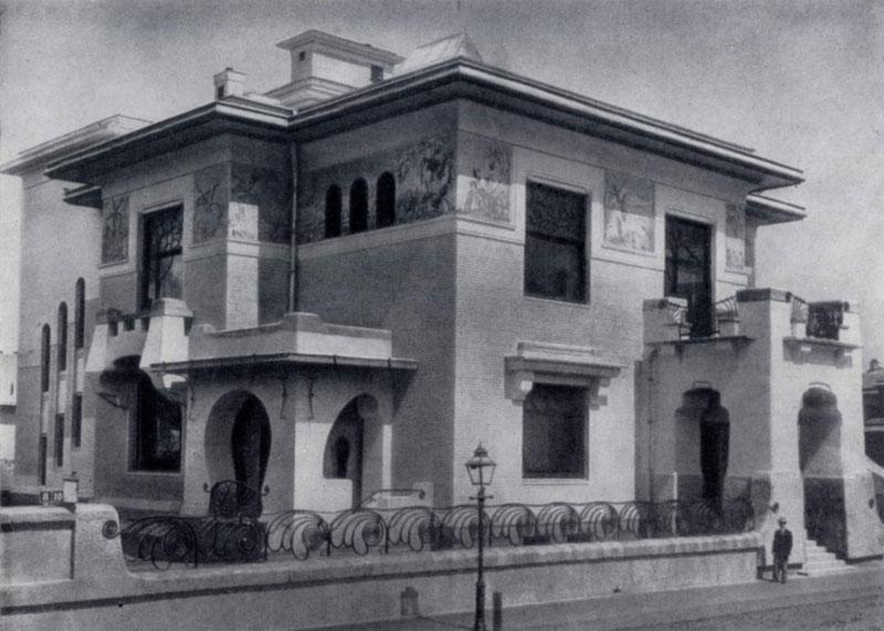 Ф. О. Шехтель. Особняк Рябушинского в Москве. 1902 — 1906 гг