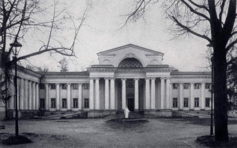 И. А. Фомин. Особняк Половцева в Ленинграде. 1911 — 1913 гг