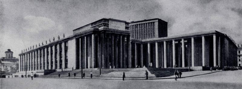 В. А. Щуко, В. Г. Гельфрейх. Библиотека им. В. Н. Ленина в Москве. 1928 — 1940-е гг