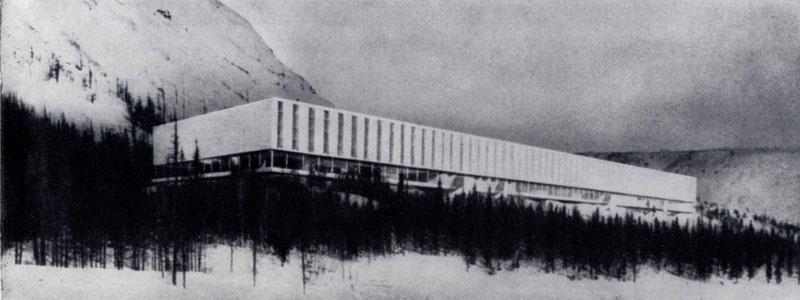 А.И.Шипков, Я.Трушиньш. Жилой комплекс в Норильске. 1965 — 1966 гг