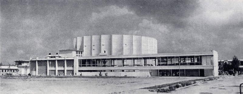 Ю.А.Халдеев, В.В.Березин, С.М.Сутягин, Д.М.Шуваев. Дворец искусств в Ташкенте. 1964 г