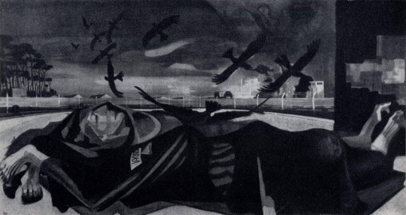 Г.Грундиг. Жертвам фашизма. 1946 — 1949 гг. Дрезден, Картинная галлерея, отделение новых мастеров в Пильнице