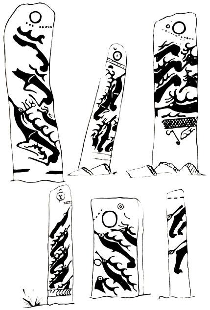 Изображения на 'оленных камнях'