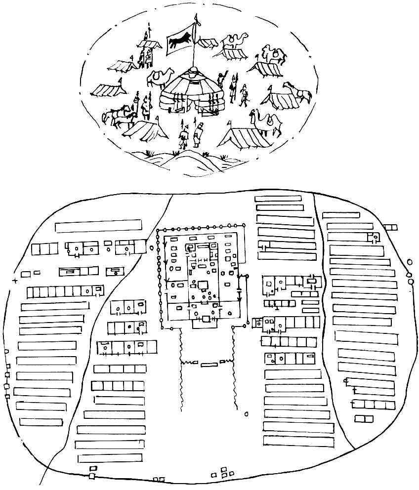 Принципы планировки средневекового города