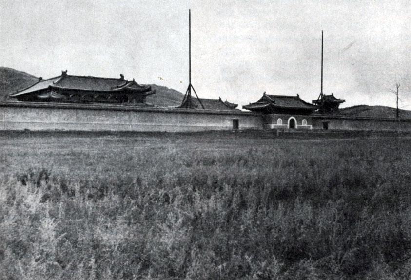 Общий вид монастыря Амурбаясхуланту. XVIII в.