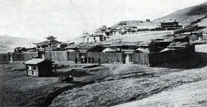 Общий вид монастыря Маньчжушри