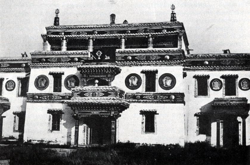Дворец Лавран в монастыре Эрдэни-Дзу. XVIII в.