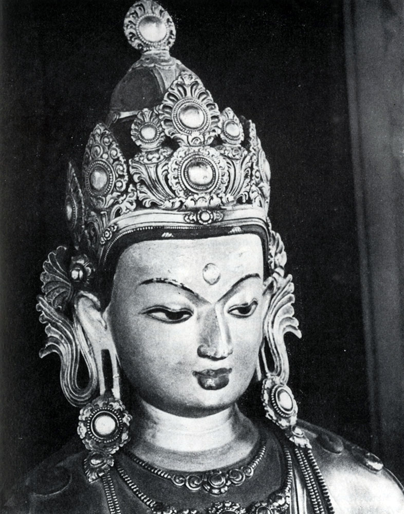 Дзанабадзар. Акшобхья. Фрагмент