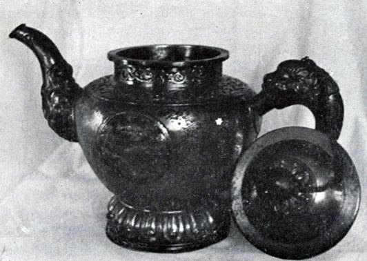 Чайник. Железо. XVII в. ГЦМ