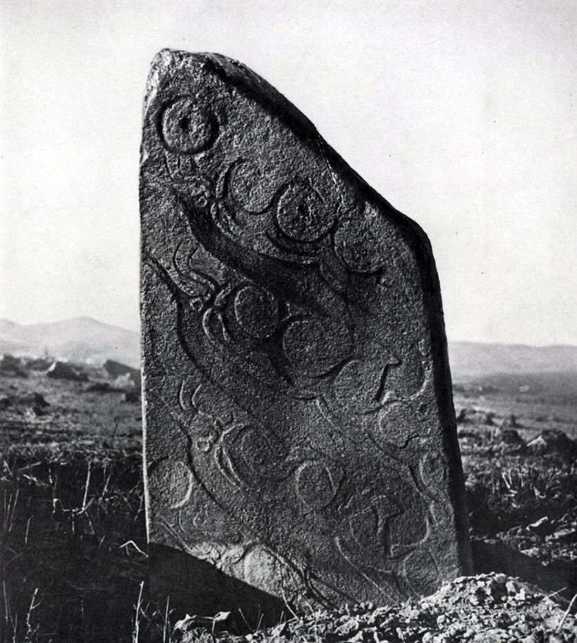 «Оленный камень». Вторая половина I тыс. до н. э. Булганский аймак