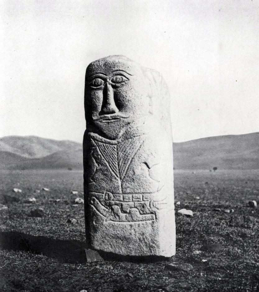 Каменное изваяние. Гранит. Увэр-Хангайский аймак