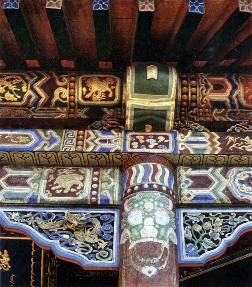 Декоративные украшения Зеленого дворца. Хан-музей