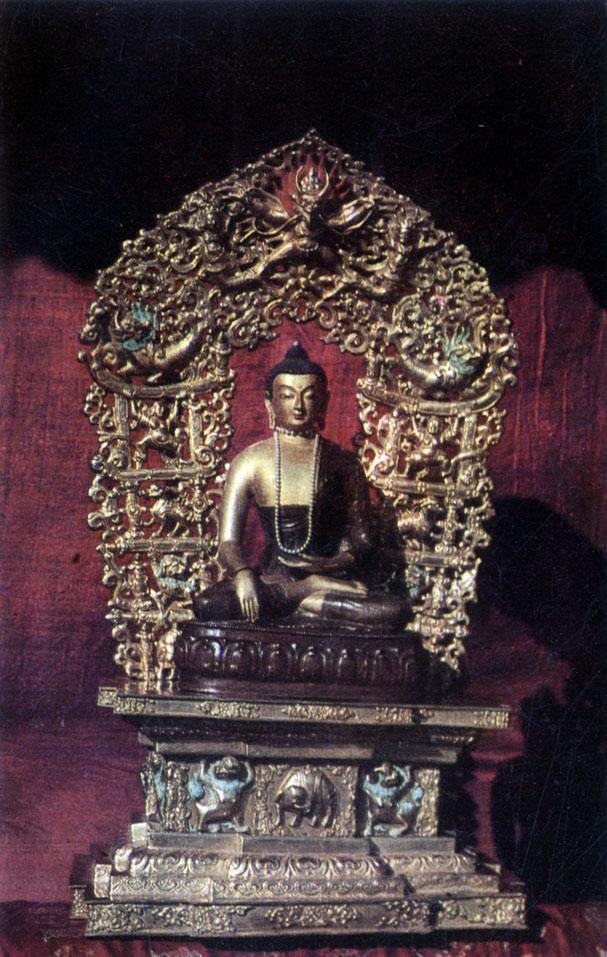 Неизвестный мастер. Будда.  XIX  в.  Храм-музей