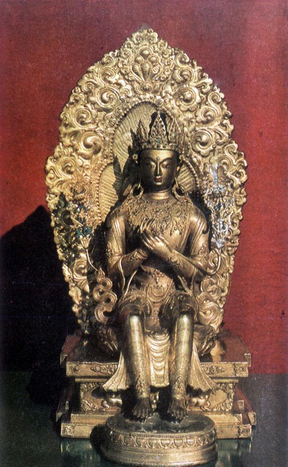 Неизвестный мастер. Майтрейя.  XIX в.  Храм-музей