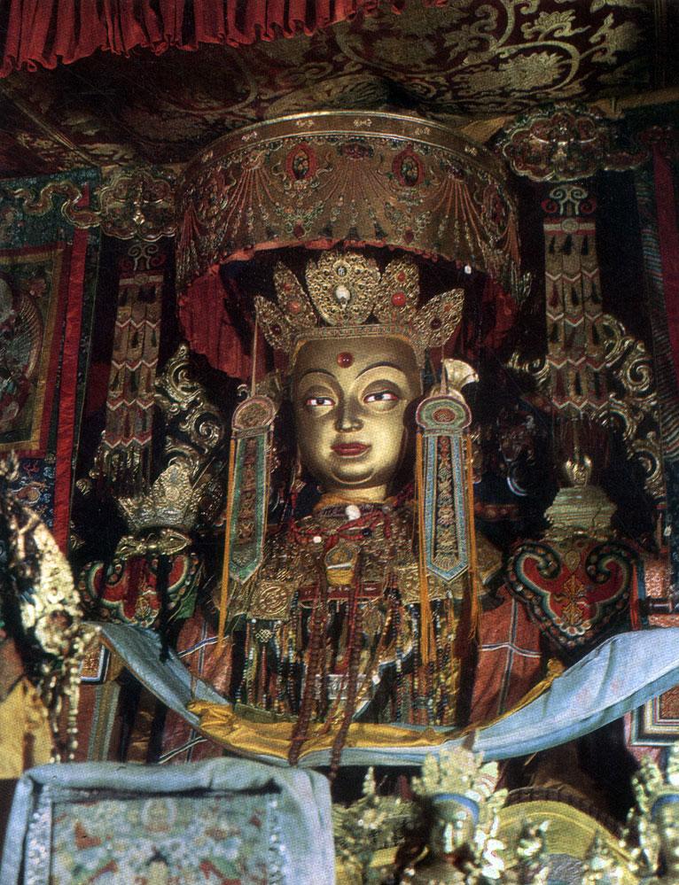 Будда из монастыря Эрдэни-Дзу. Начало XIX в. Увэр-Хангайский аймак