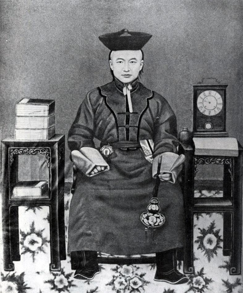 Сономцэрэн. Портрет Тушету-хана. Полотно, минеральные краски. Начало XX в. МИИ
