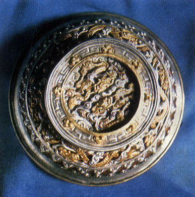 Чаша. Серебро, позолота, резьба. XIX в. ГЦМ