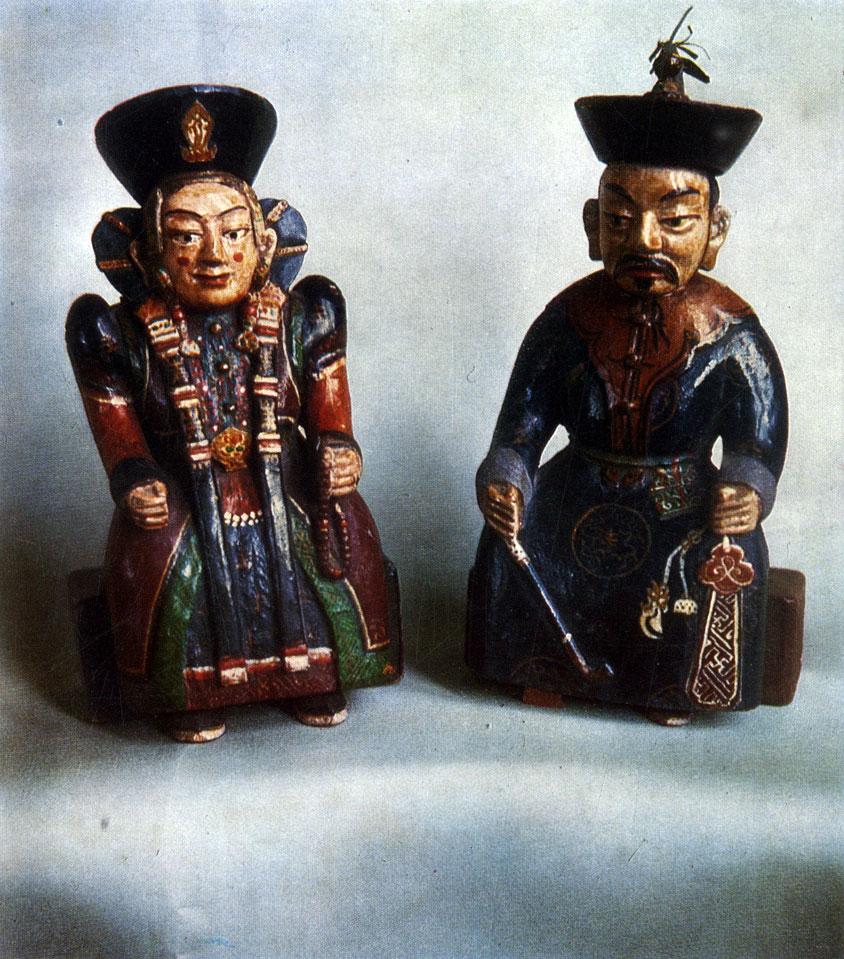 Народная деревянная скульптура. XIX в.  ГЦМ