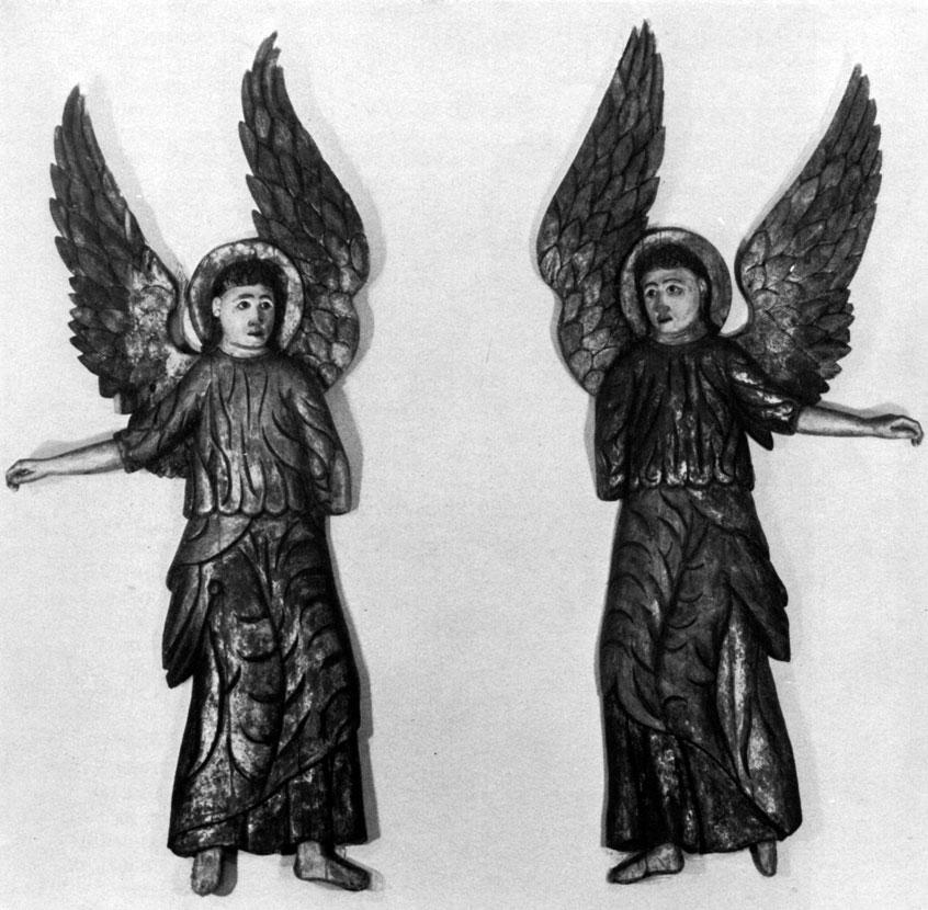 Ангелы. Кон. XVII - нач. XVIII в. Великий Устюг